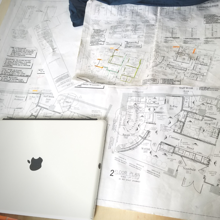 iPad with Floor Plan